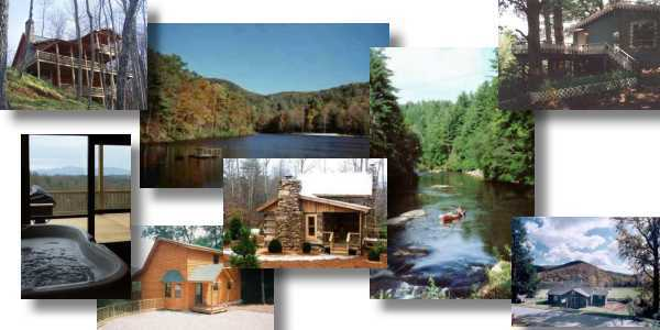Mountain Cabin Rentals In Georgia And North Carolina
